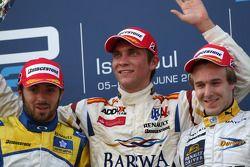 Luca Filippi, Super Nova Racing, Vitaly Petrov, Barwa Campos Team y Davide Valsecchi, Durango