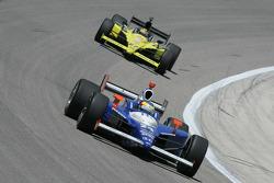 Mike Conway, Dreyer & Reinbold Racing; Sarah Fisher, Sarah Fisher Racing