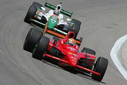 Graham Rahal, Newman, Haas, Lanigan Racing; Tony Kanaan, Andretti Green Racing