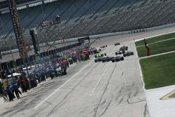 Pit Lane Texas Motor Speedway