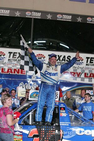 Victory Celebration for Todd Bodine, Copart.com Toyota