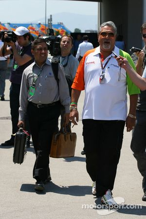 Vijay Mallya Force India F1 Takım Sahibi