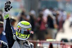 Yarış galibi Jenson Button, Brawn GP