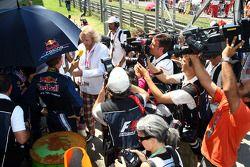 Sebastian Vettel, Red Bull Racing, Kai Ebel et Thomas Gottschalk