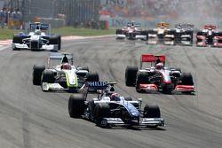 Kazuki Nakajima, Williams F1 Team devance Heikki Kovalainen, McLaren Mercedes et Rubens Barrichello, Brawn GP