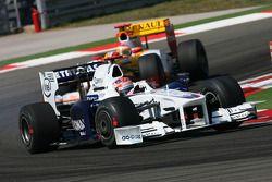 Robert Kubica, BMW Sauber F1 Team et Fernando Alonso, Renault F1 Team