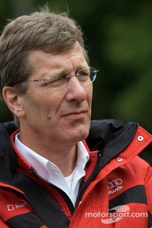 Ralf Juttner, directeur technique d'Audi Sport