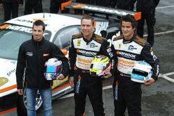 Christian Montanari, Dominik Farnbacher et Allan Simonsen