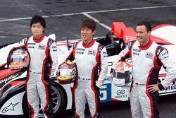 #5 Navi Team Goh Porsche RS Spyder: Keisuke Kunimoto, Seiji Ara, Sascha Maassen