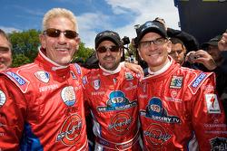 Don Kitch Jr., Patrick Dempsey and Joe Foster