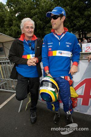Hugues de Chaunac et Bruno Senna