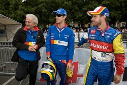 Hugues de Chaunac, Bruno Senna et Tiago Monteiro
