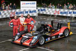 #26 Bruichladdich Bruneau Radical AER: Pierre Bruneau, Marc Rostan, Tim Greaves