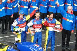 #10 Team Oreca-Matmut-AIM Oreca 01 AIM: Stéphane Ortelli, Bruno Senna, Tiago Monteiro