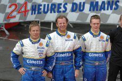 #6 Team LNT Ginetta Zytek: Richard Dean, Nigel Moore, Lawrence Tomlinson