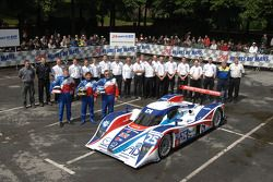 #25 RML Lola Mazda Coupe: Mike Newton, Thomas Erdos, Chris Dyson