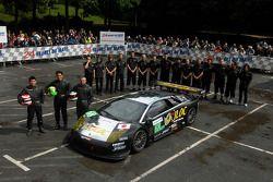 #68 JLOC Lamborghini Murcielago R-GT: Marco Apicella, Atsushi Yogo, Yutaka Yamagishi