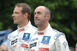 Alexander Wurz and David Brabham
