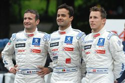 Nicolas Minassian, Pedro Lamy and Christian Klien