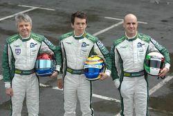 Paul Drayson, Jonny Cocker, Marino Franchitti