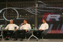 Rinaldo Capello, Tom Kristensen and Allan McNish