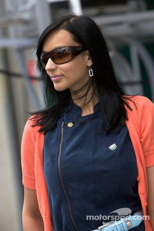An Aston Martin Racing girl
