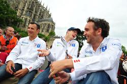 Stéphane Sarrazin, Sébastien Bourdais and Franck Montagny