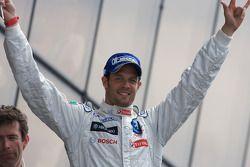 LMP1 podium: Alexander Wurz