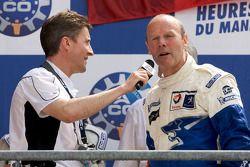 LMP1 podium: Team Peugeot Total boss Olivier Quesnel