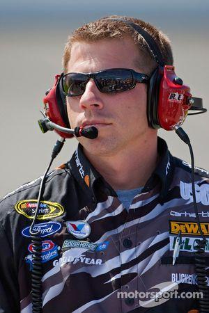 Drew Blickensderfer, chef d'équipe de Matt Kenseth, Roush Fenway Racing Ford