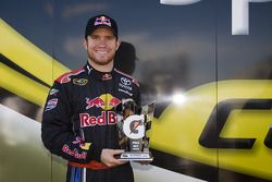 Le vainqueur de la pole position, Brian Vickers, Red Bull Racing Team Toyota