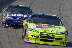 Mark Martin, Hendrick Motorsports Chevrolet, Jimmie Johnson, Hendrick Motorsports Chevrolet