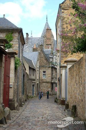 The streets of Vieux Mans