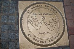 The hand prints of Michel Vaillant