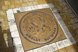 The hand and foot prints of Hurley Haywood