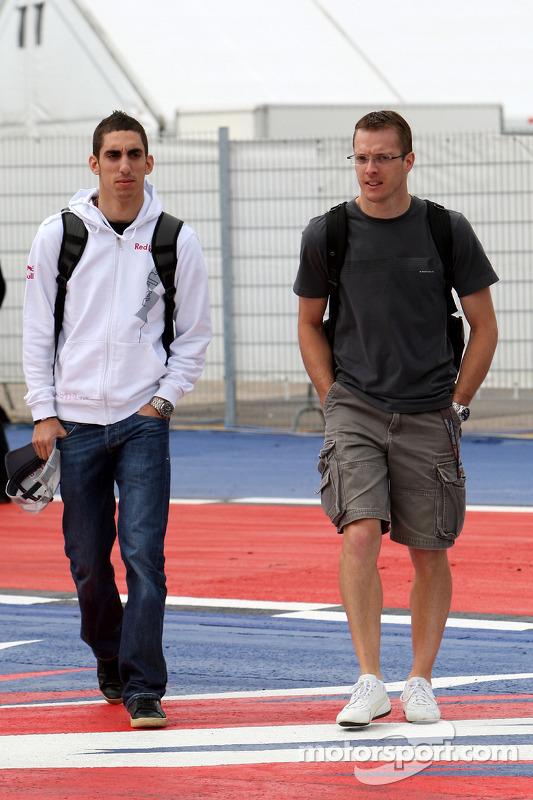Sebastien Buemi, Scuderia Toro Rosso, Sebastien Bourdais, Scuderia Toro Rosso