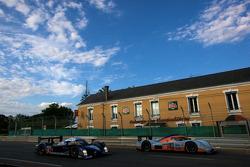 #007 AMR Eastern Europe Lola Aston Martin: Stefan Mücke, Jan Charouz, Tomas Enge, #9 Team Peugeot To