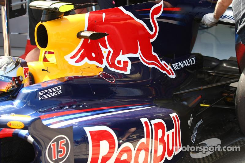 Sebastian Vettel, Red Bull Racing motor kapağı