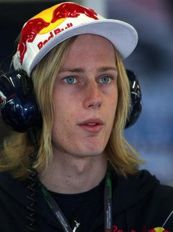 Brendon Hartley, piloto de pruebas de Red Bull