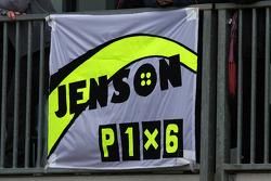 Un poster de Jenson Button, Brawn GP
