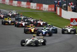 Départ: Romain Grosjean, Barwa Addax Team