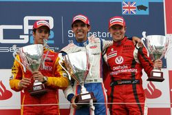Lucas di Grassi, Racing Engineering, Alberto Valerio, Piquet GP and Nico Hulkenberg, ART