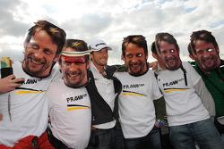Jenson Button, Brawn GP avec quelques fans