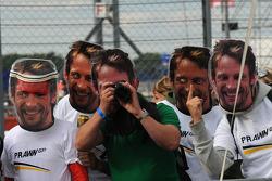 Les fans de Jenson Button, Brawn GP