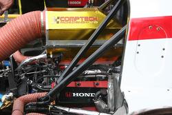 Le moteur de course Honda de la #5 Beyer Racing Honda Riley: Jared Beyer, Jordan Taylor