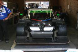 Le zoom à l'avant de la #59 Brumos Racing Porsche Riley: Joao Barbosa, JC France
