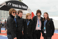 Rock band Kasabian
