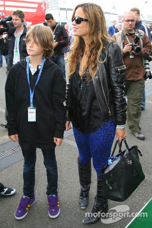 Jade Jagger Daughter Of Mick Jagger At British Gp Formula 1 Photos