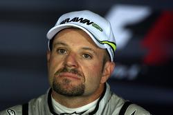 Conférence de presse : troisième place pour Rubens Barrichello, Brawn GP
