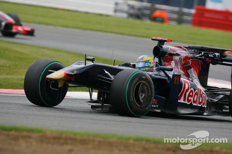 Sebastien Bourdais, Scuderia Toro Rosso lost his ön kanat